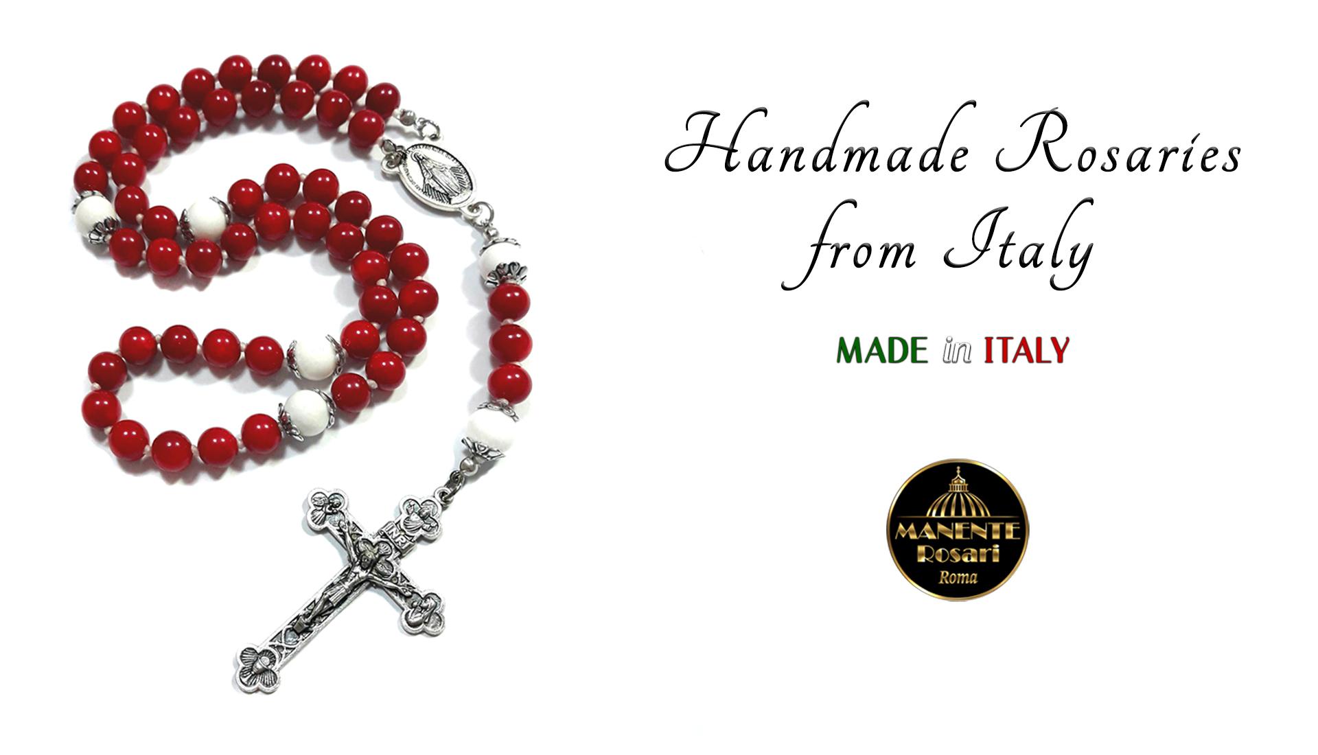 Handmade Catholic Rosaries from Italy